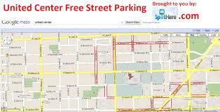 Dodger Stadium Parking Map United Center Parking Map My Blog