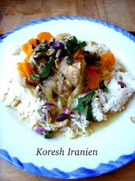recette cuisine iranienne khoresh d agneau recette iranienne ideoz voyages