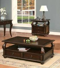 dark wood coffee table sets espresso coffee table sets insightsineducation