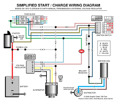 simplified start charge wiring diagram the dime quarterly