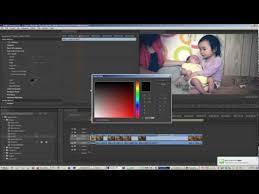 tutorial editing video di adobe premiere how to use adobe premiere pro editing tone color matte in adobe