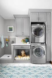 pet room ideas gray laundry room with pet bed and dog washing station kids room