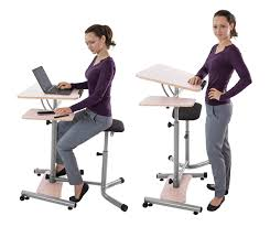 sit and stand desk platform teeter sit stand desk adjustable height ergonomic workstation with