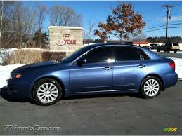 used 2008 subaru impreza 2 5i hatchback 2008 subaru impreza 2 5i sedan in newport blue pearl 525378