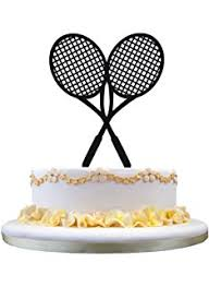 tennis cake toppers 12 tennis themed cupcake toppers rice paper precut