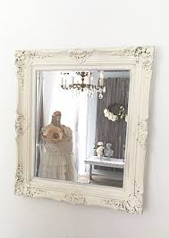 french country decor home office in the mirror white baroque