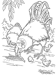 farm animal coloring pages for kids prinable free farm animal