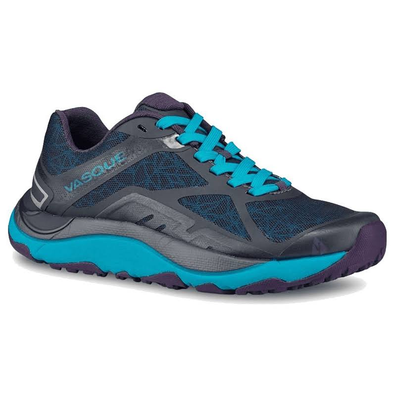 Vasque Trailbender II Trail Running Shoes Ebony/Bluebird 6.5 US 07661M 065
