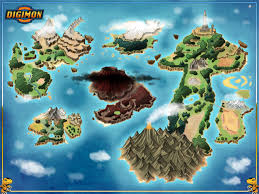 World Map Game Digimon World Map Commission By Stratomunchkin Rpg Fantasia