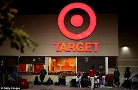 black friday target line black friday crazed shoppers around the country lining up for