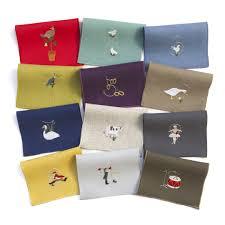 days of cocktail napkins set of 12