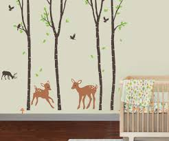 Tree Wall Decor For Nursery Wall Decals For In Amusing Giraffe Decal Along With