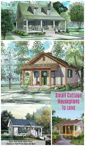 Small Cottage Plan Small Cottage House Plans With Amazing Porches