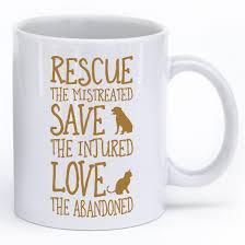 animal mug rescue them mug iheartcats com