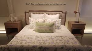 How To Make The Bed How To Make The Perfect Bed Youtube