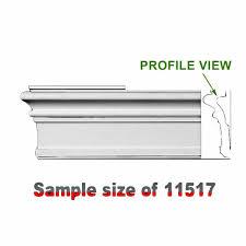 cornice white urethane sample of 11517 24