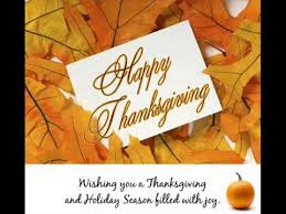 wishing you a blessed safe thanksgiving enjoy lol