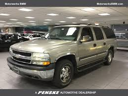 chevrolet suburban 2003 used chevrolet suburban 4dr 1500 4wd ls at motorwerks bmw