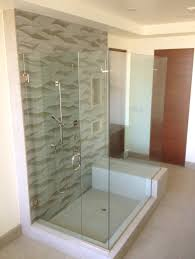 wonderful frameless shower stall shower enclosures semi frameless