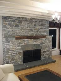 simple made and attractive air stone fireplace designs diy loversiq