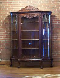 Corner Cabinets For Dining Room Curio Cabinet Stunning Victorian Curio Cabinet Photo