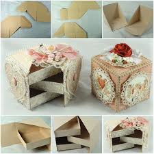 jewelry box 20 how to diy secret jewelry box from cardboard fab diy