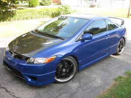 custom honda civic si itsraffa 2006 honda civicsi coupe 2d specs photos modification