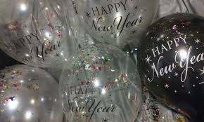 happy new year balloon happy new year balloons pop