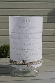 idã e menu mariage ou comment présenter un menu de façon originale mariage