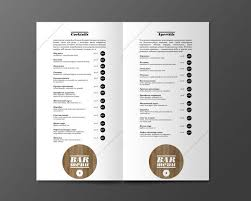 free restaurant menu templates samples and templates 45 inspiring