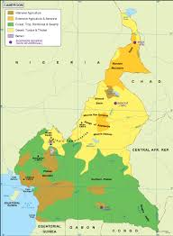 map of cameroon cameroon vegetation map order and cameroon vegetation