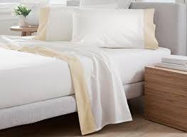 luxury italian bed linens egyptian cotton sateen 330tc