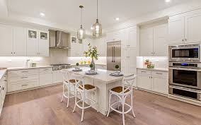 light yellow kitchen with white cabinets premier kitchens the lafayette kitchen