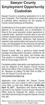 sawyer county hayward wi