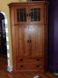 Shaker Style Armoire Cherry Wood Armoire Foter