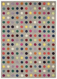 Coloured Rug Funk Spotty Multi Coloured Rugs Free Uk Delivery Capital Rugs