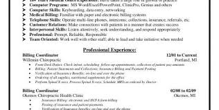 Data Entry Specialist Resume Sample Medical Billing Resume Medical Billing Resume