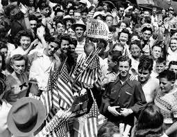 70th anniversary the end of world war ii america celebrates