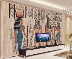Ancient Egypt Interior Design Wholesale Murals 3d Wallpapers Home Decor Photo Background Wallpaper