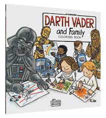 darth vader family coloring book browse