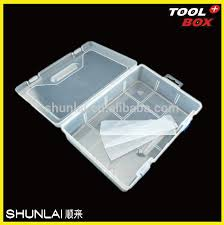 Plastic Tool Storage Containers - tool storage boxes 8 bin large portable parts storage case