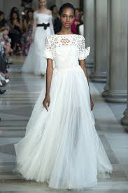 wedding dress inspiration wedding dress inspiration from the ss17 fashion shows instyle co uk