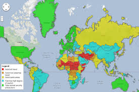 travel warnings images The countries with the most travel warnings from the us and canada png