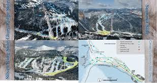Hummingbird Map Whitewater Ski Resort Trail Map Onthesnow