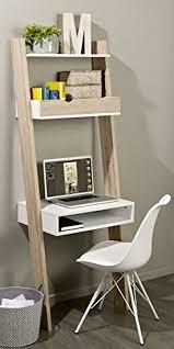 bureau echelle sobuy frg111 wn étagère de rangement bibliothèque avec bureau