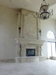 custom stone fireplaces custom modern cast stone fireplace stone
