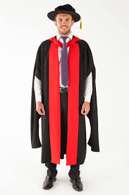 doctoral gown of adelaide doctor graduation gown set phd gowntown
