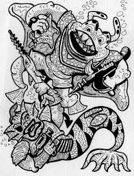 ethan mongin illustration design teenage mutant ninja