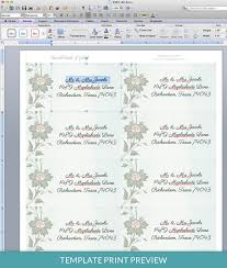 address label template center the name and address and add a