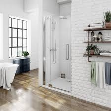 Shower Door Hinged by Mode Luxury 8mm Left Handed Frameless Hinged Shower Door